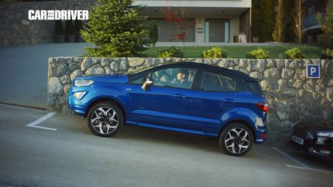 Land vehicle, Vehicle, Car, Mini SUV, Sport utility vehicle, Ford ecosport, Alloy wheel, Ford, Automotive tire, Tire,