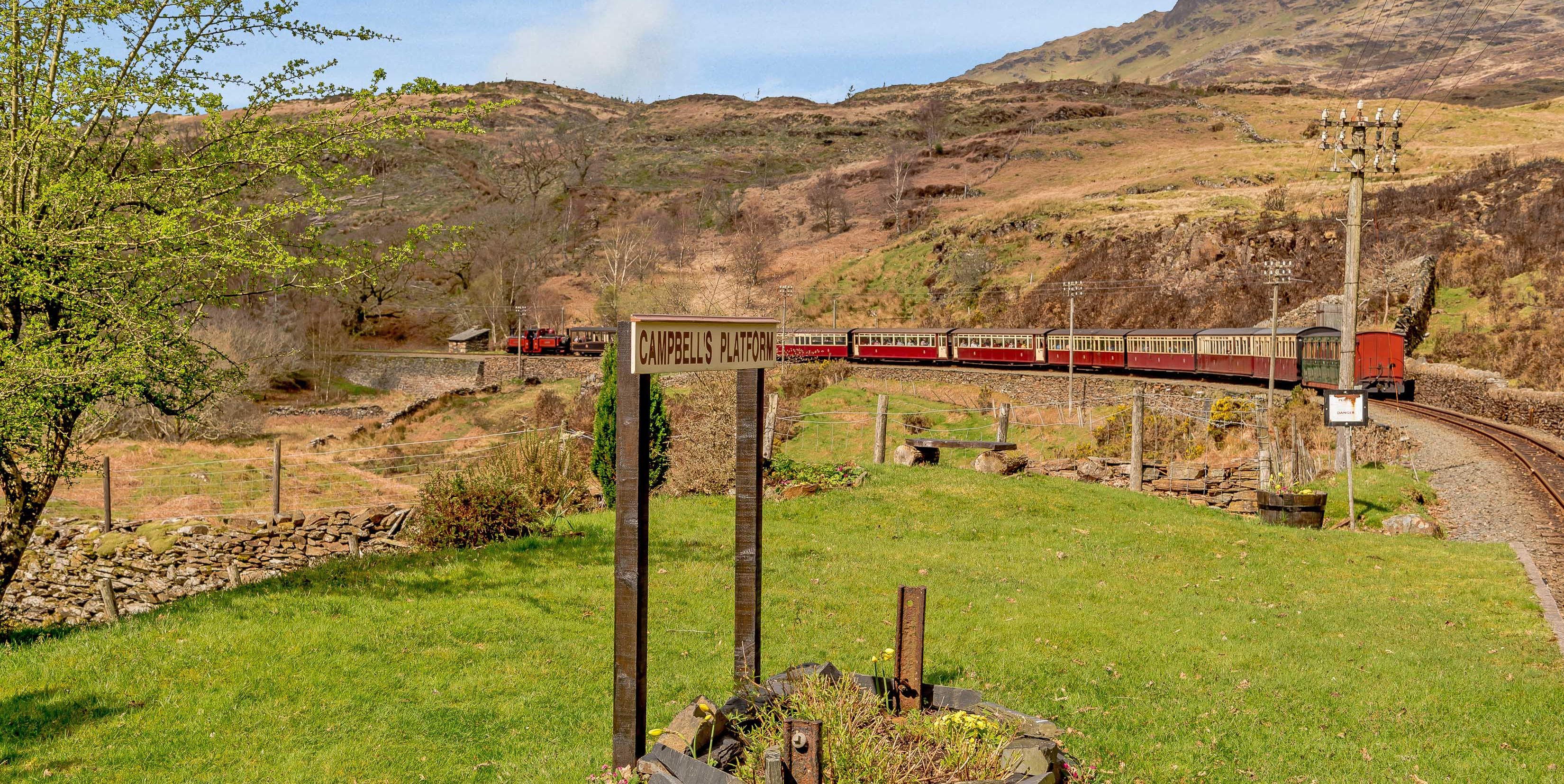 Plas Y Dduallt - Wales - railway - Carter Jonas