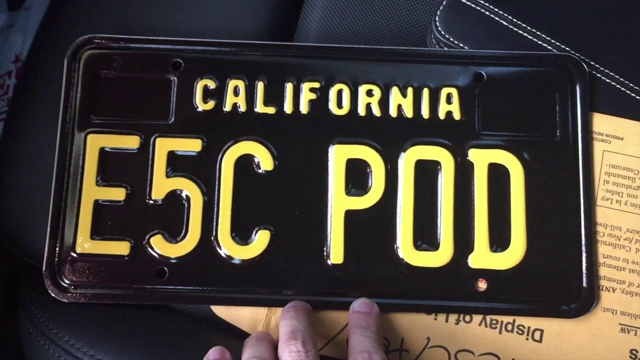 The 18 Coolest License Plate Designs