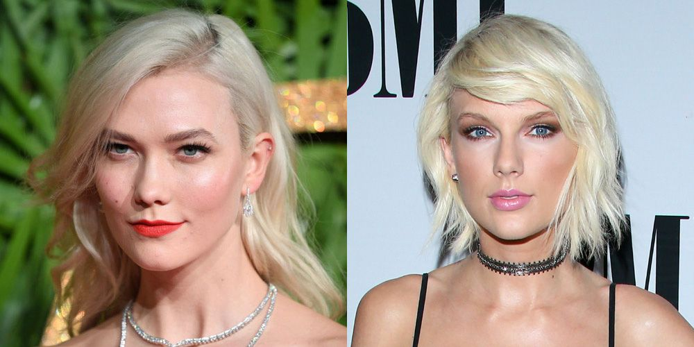 platinum blonde celebrity hair