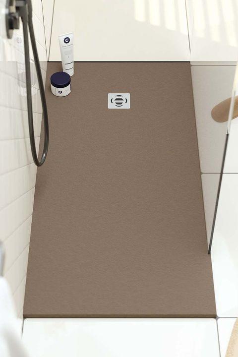 para el baño plato de ducha de resina de poliéster antideslizantes