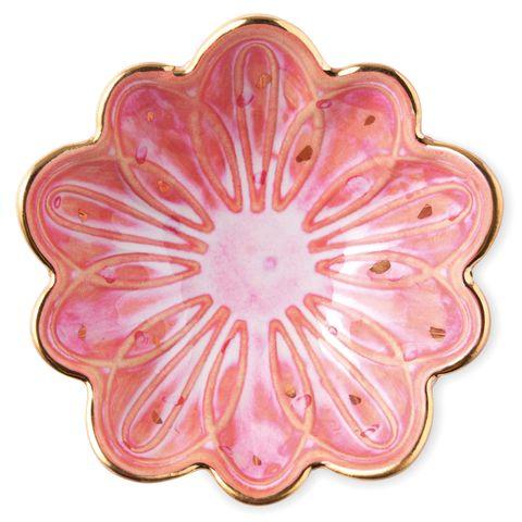 bol con forma de flor