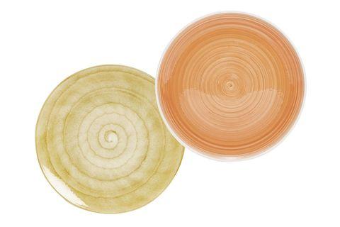 Plato de loza de colores de Zara Home