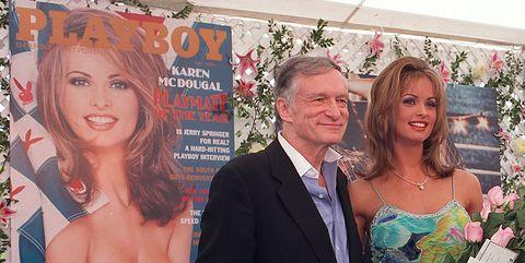 Hugh Hefner and Karen McDougal