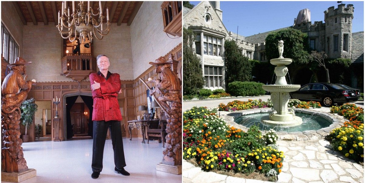 Playboy Mansion Architecture Los Angeles Historical