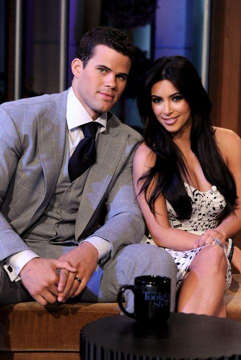 "Kim Kardashian, Kris Humphries, Kenny Wormald And Leann Rimes On ""The Tonight Show With Jay Leno"""