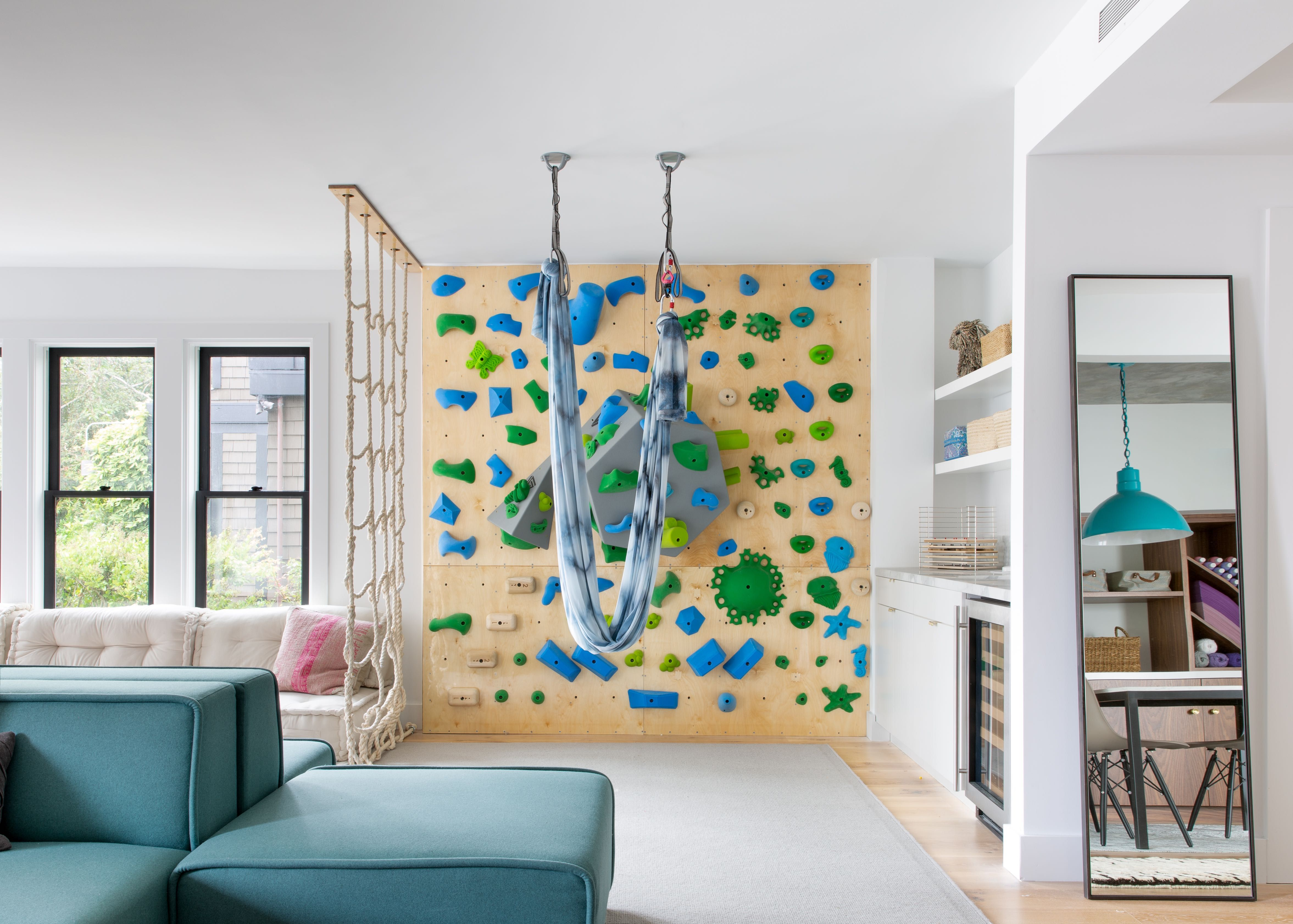 Now You'll Understand Why Every House Needs a Rock-Climbing Wall
