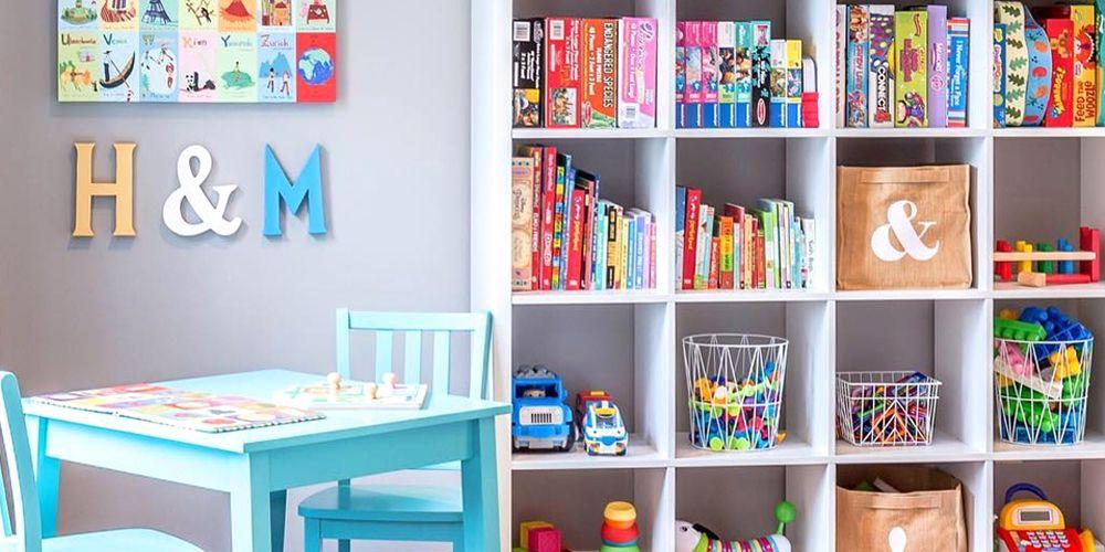 Playroom Organization: 8 Kids' Playroom Design & Organization Ideas For 2018