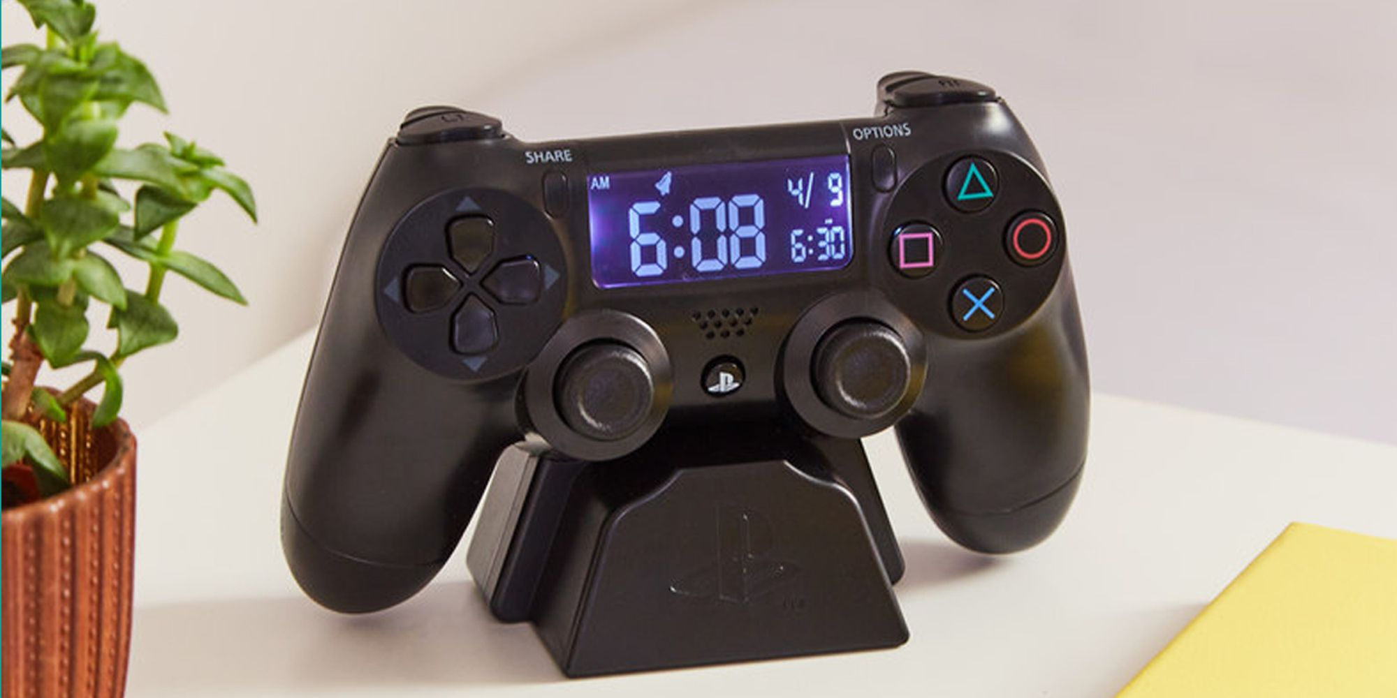 This PlayStation Alarm Clock Is the Motivation You Need in the Morning