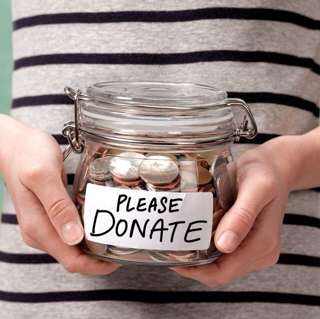PLEASE DONATE CHARITY JAR