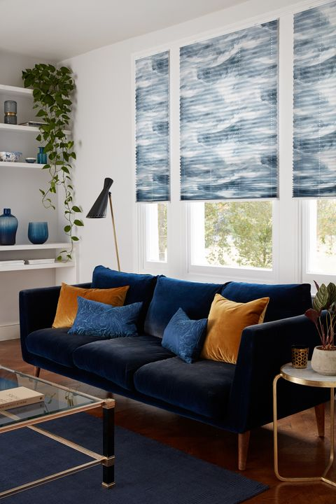 pleated blinds, house beautiful range at hillarys