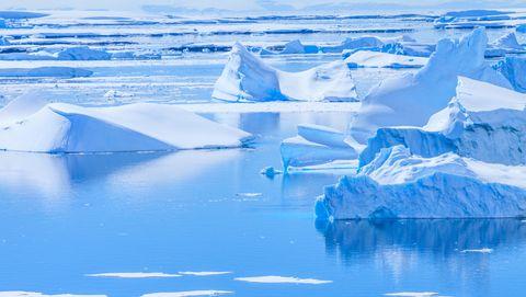 Pleneau Island in Antarctica