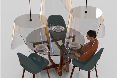 餐桌防疫裝置plex eat