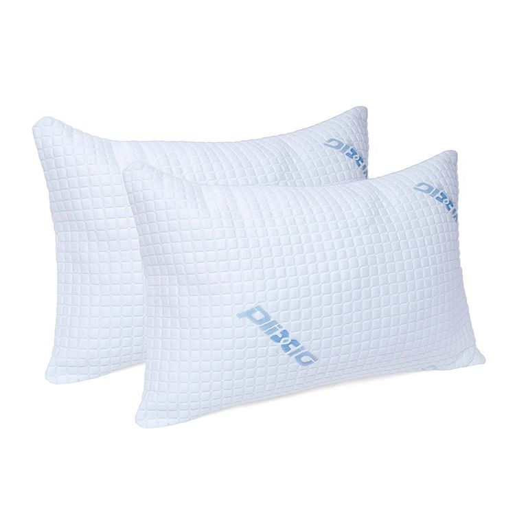 Plixio Deluxe Cooling Shredded Memory Foam Pillows