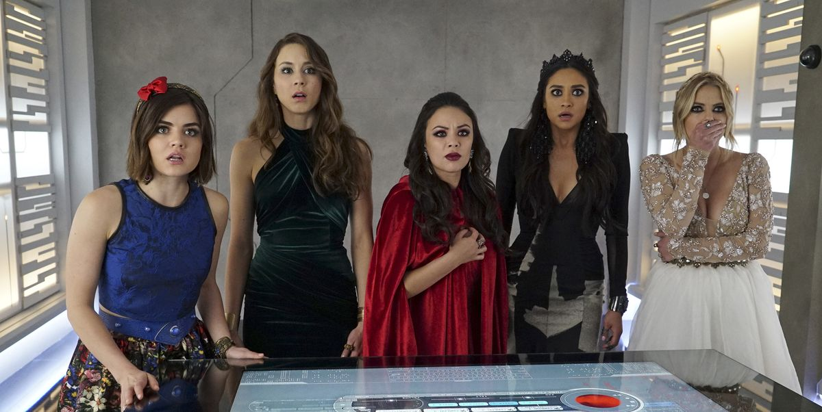 A Complete History of A on Pretty Little Liars - PLL A
