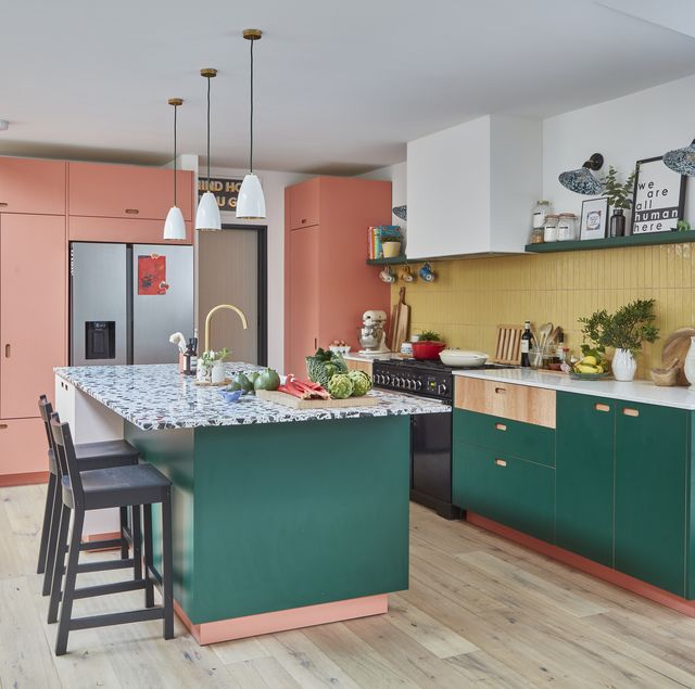 colourful kitchen design ideas