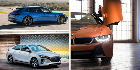 every new plug in hybrid vehicle available in america