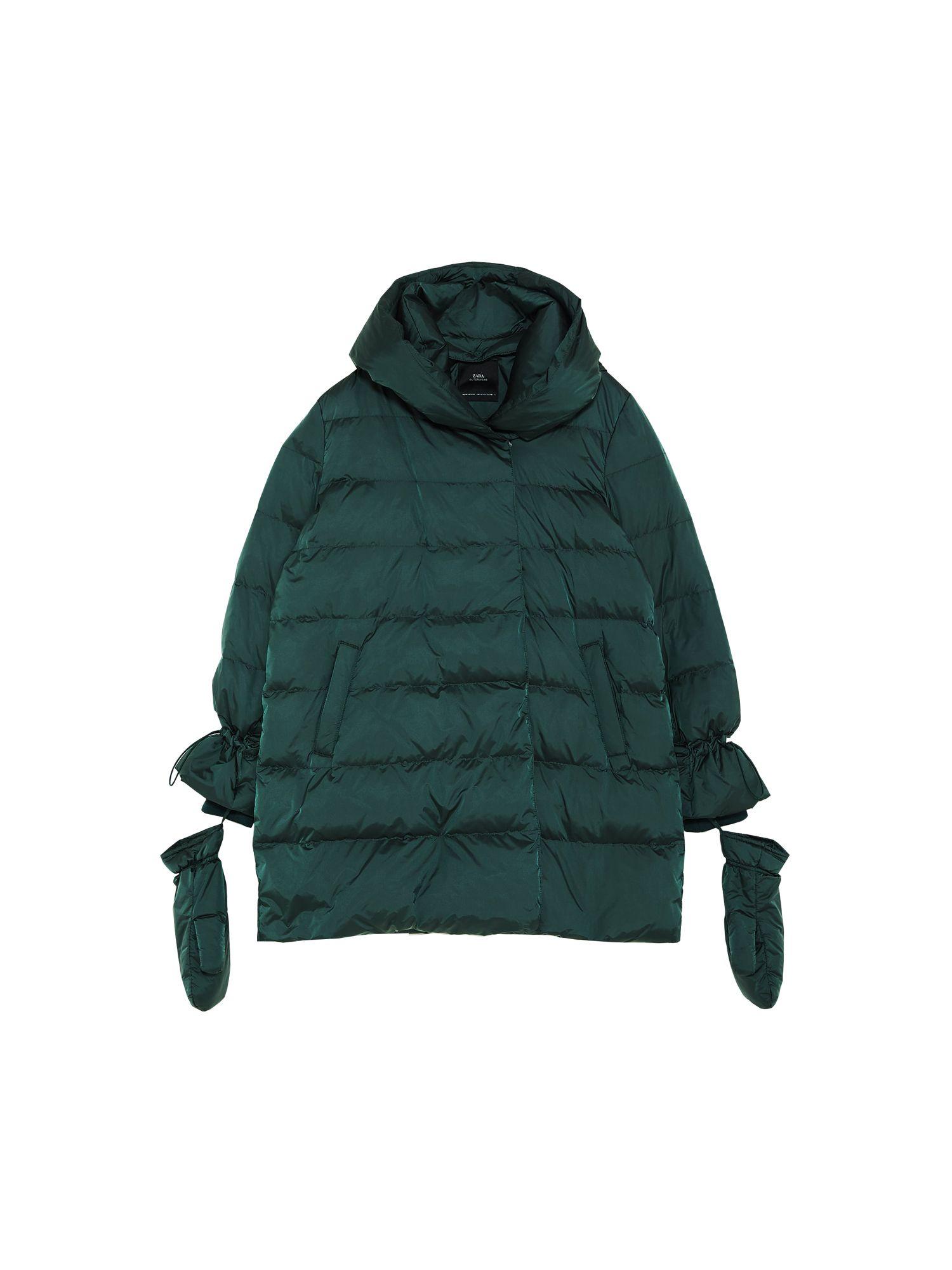 chaqueta de plumon ultraligera zara