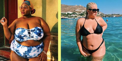 5bb374cacc004 Plus Size Bikinis  Inspiration from curvy fashion bloggers