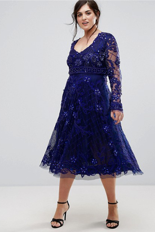 Preppy Plus Size Prom Dresses