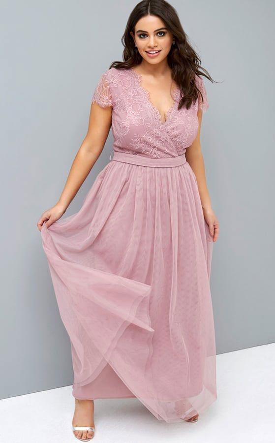 Plus Size Bridesmaid Dresses Long