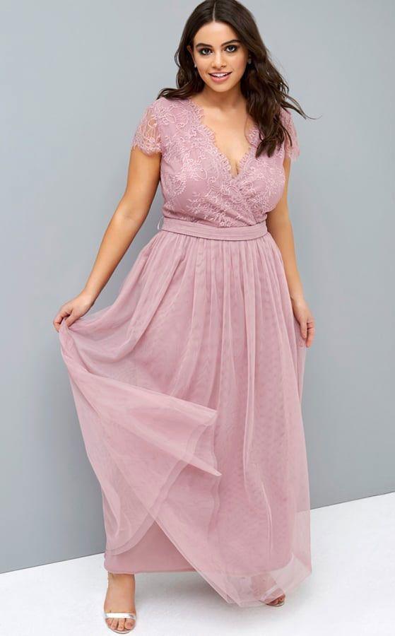 Plus size bridesmaid dresses - Little Mistress