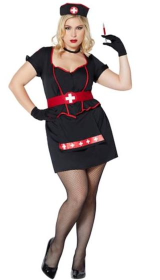 plus size costumes nurse