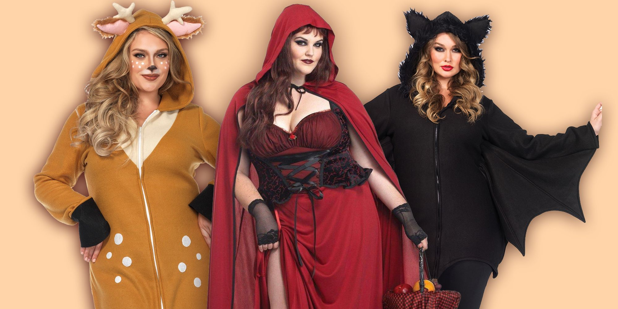 plus size halloween costumes  sc 1 st  Cosmopolitan & Plus Size Halloween Costumes 2018 - 23 of the Best Fancy Dress ...