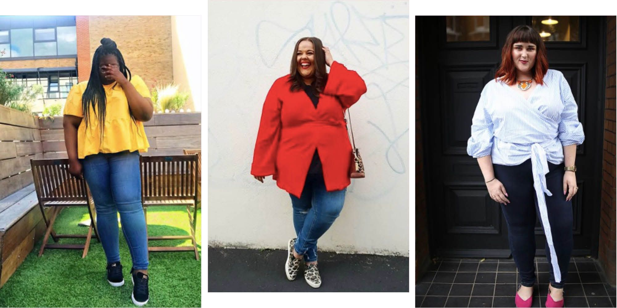 9 fashion bloggers share their favourite plus-size jeans