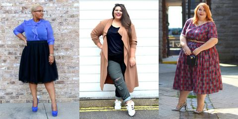 5b9dfdefb0e 23 Plus-Size Outfit Ideas for Fall - Plus-Size Style Inspiration