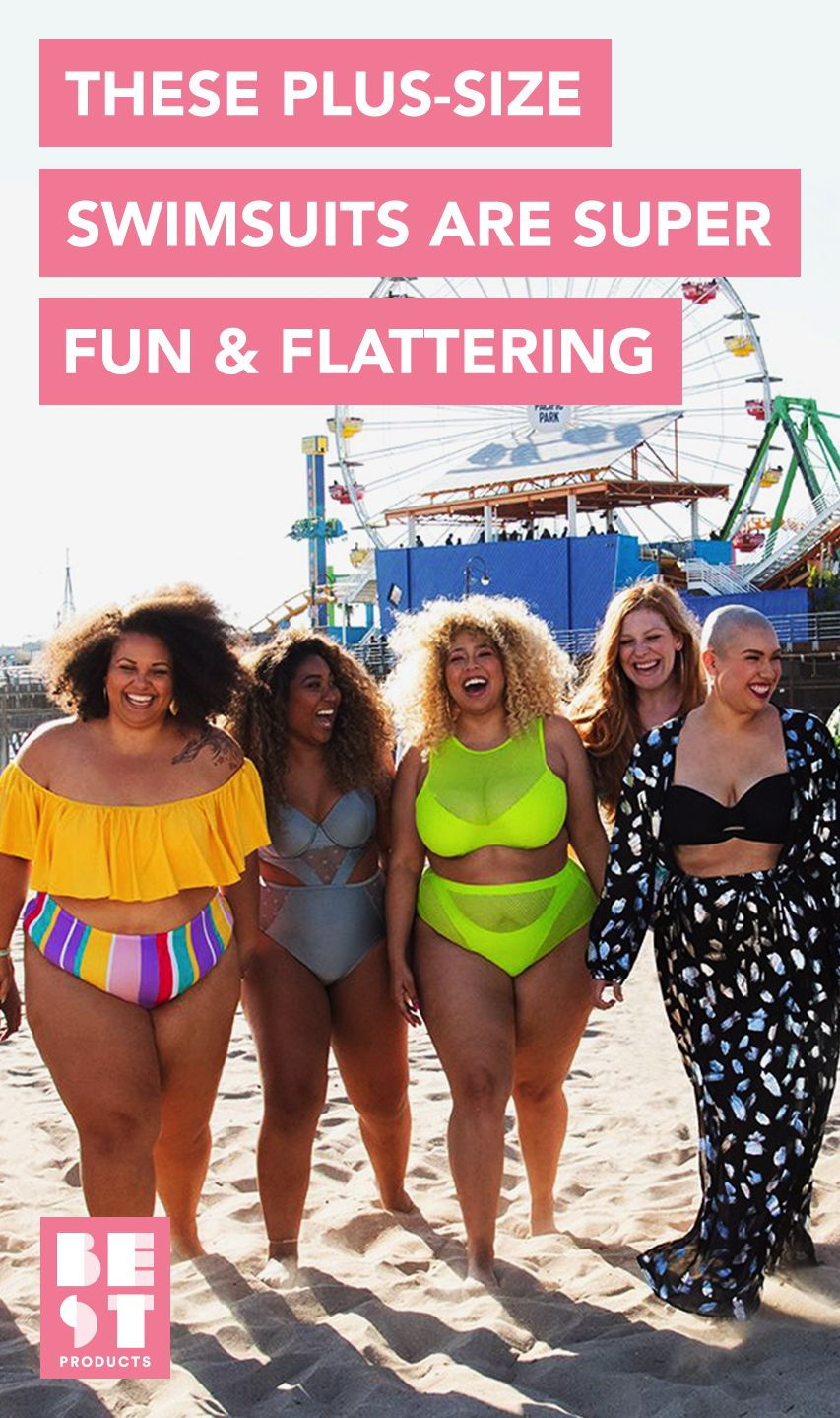 f83962e5f0c 11 Best Plus Size Swimsuits for Summer 2018 - Flattering Plus Size Swimwear    Bikinis