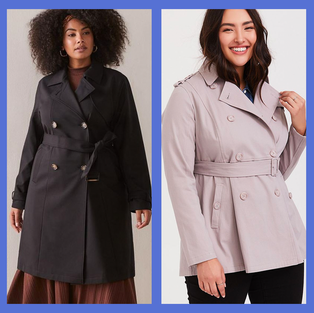 great quality brand new reasonable price 10 Best Plus Size Trench Coats — Plus Size Women Rain Coats