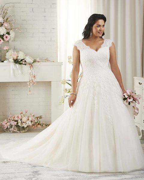 Shop Wedding Gowns: The 9 Best Plus Size Wedding Dress Shops In The UK
