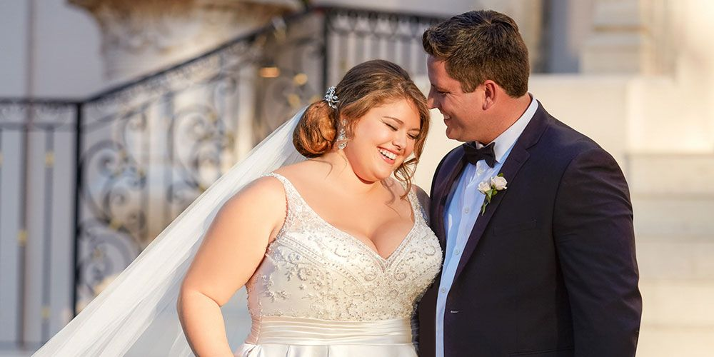 plus size wedding dress shops near me