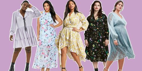 36a840b7b656 Plus-Size Wedding Guest Dresses 2018 - Our pick of this seasons best
