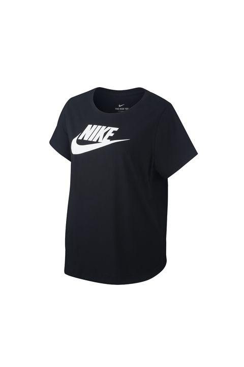 plus size gym wear -plus size printed t shirt nike