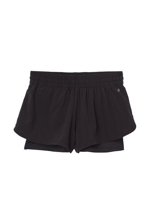 plus size gym wear -H&M+ Layered running shorts