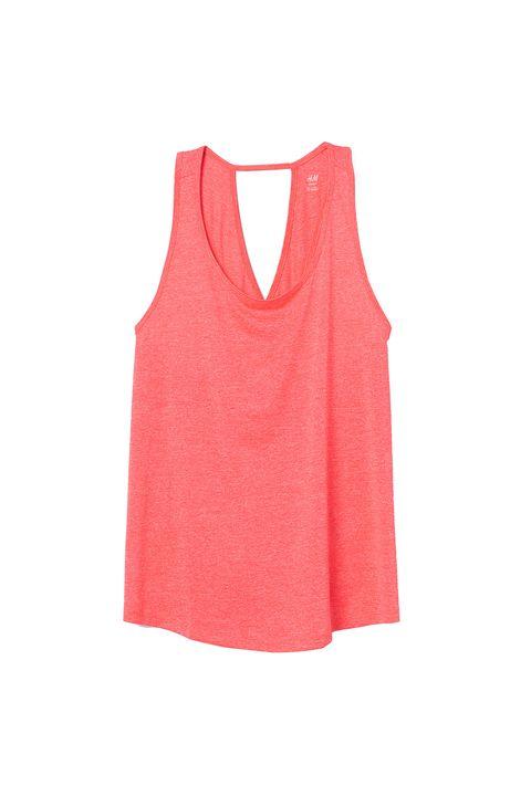 plus size gym wear -H&M + sports top vest