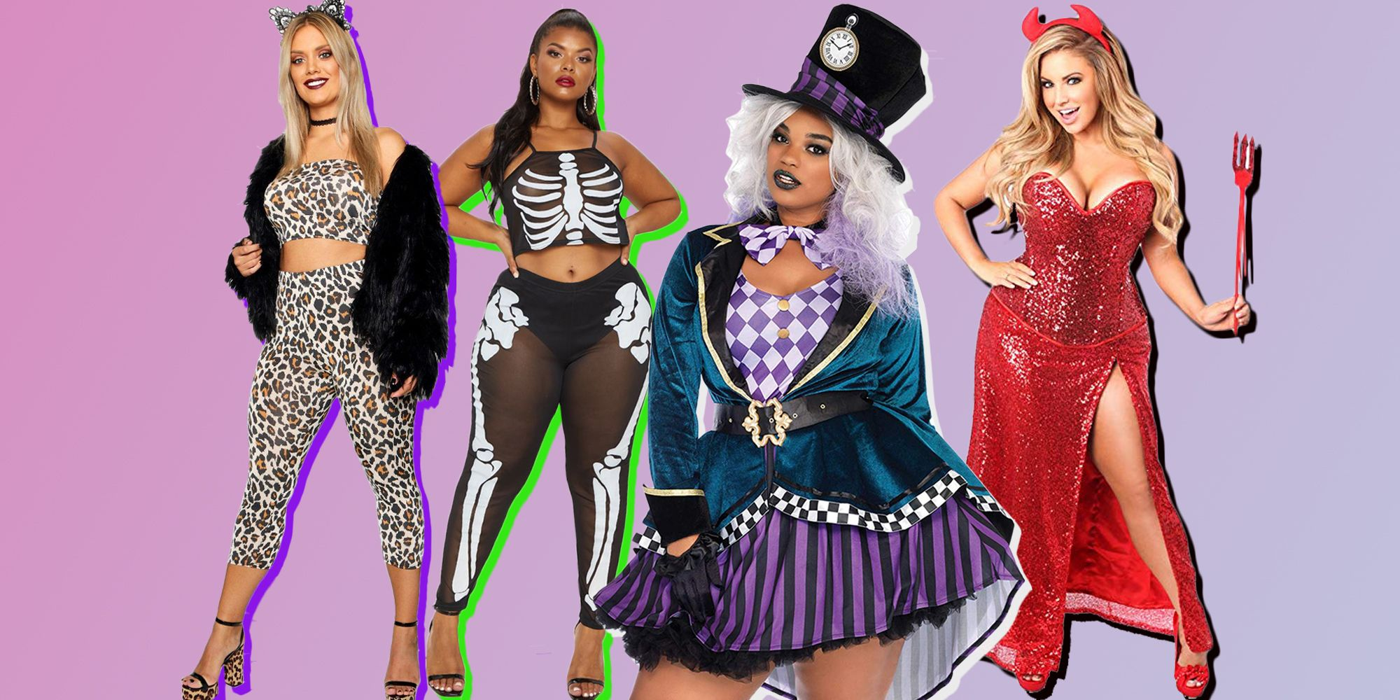 HALLOWEEN CUTE WITCH AND CAT WOMENS PRINTED FANCY DRESS SWEATSHIRT JUMPER