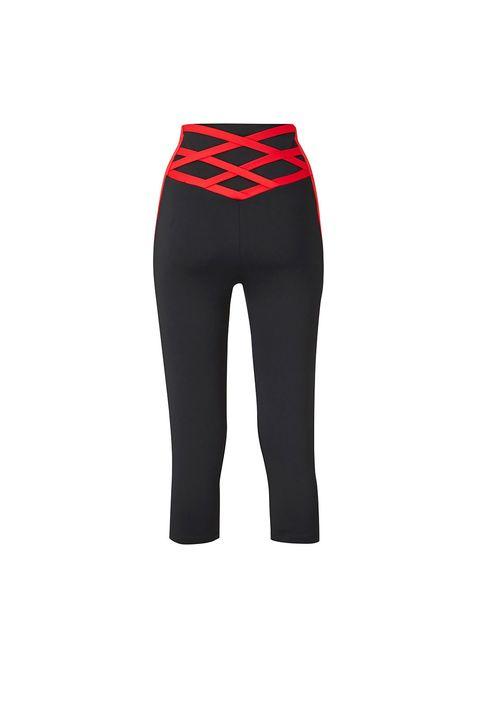 plus size gym wearFIGLEAVES CURVEColourblock Capri Leggings