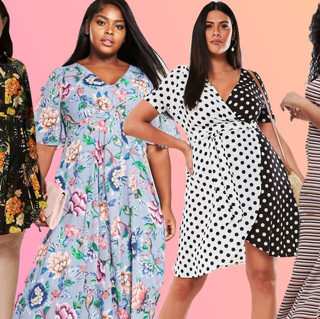 3935ffecb64 Plus-size summer dresses 2019 - Cosmopolitan s Edit of the Very Best ...