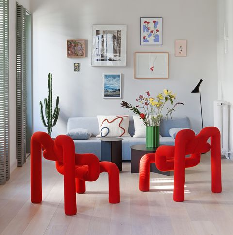 colourful small space home madrid plutarco