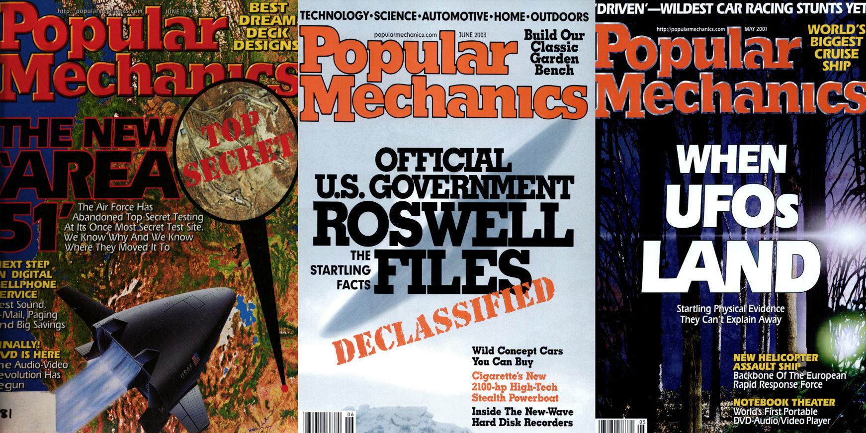 All the Times We Put UFOs on the Cover of Popular Mechanics