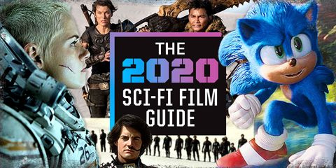 Best Sci Fi Shows 2020.2020 Sci Fi Movie Guide New Sci Fi Movies