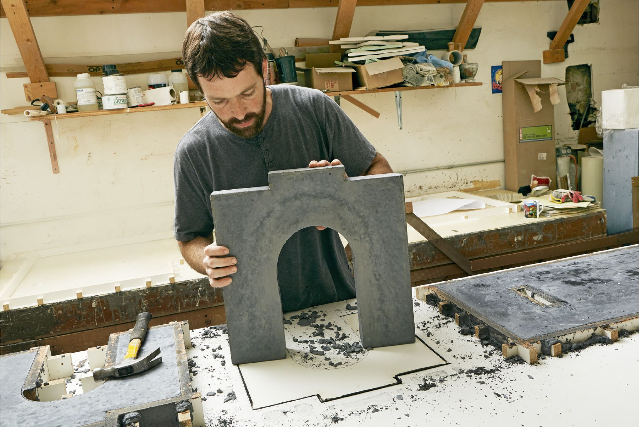 Stone Cold Beautiful: How To Build a Concrete Bench