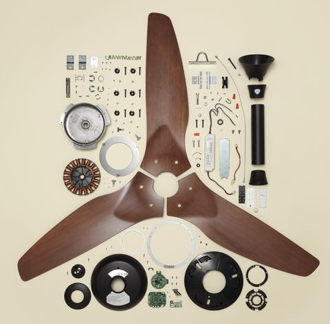 Things Come Apart Ceiling Fan