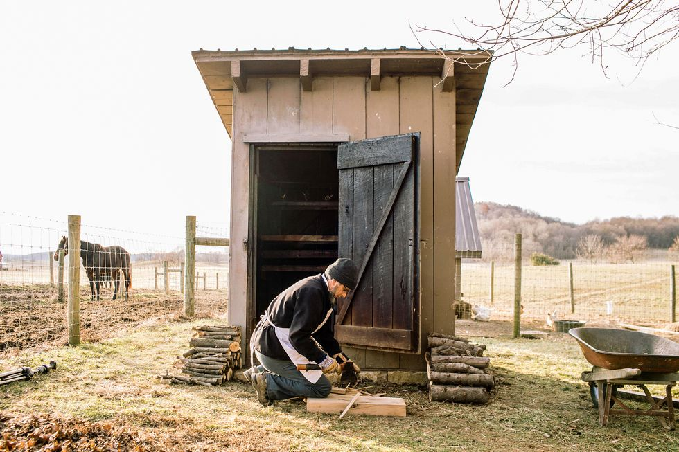 How To Build a Timber Frame Shed ...