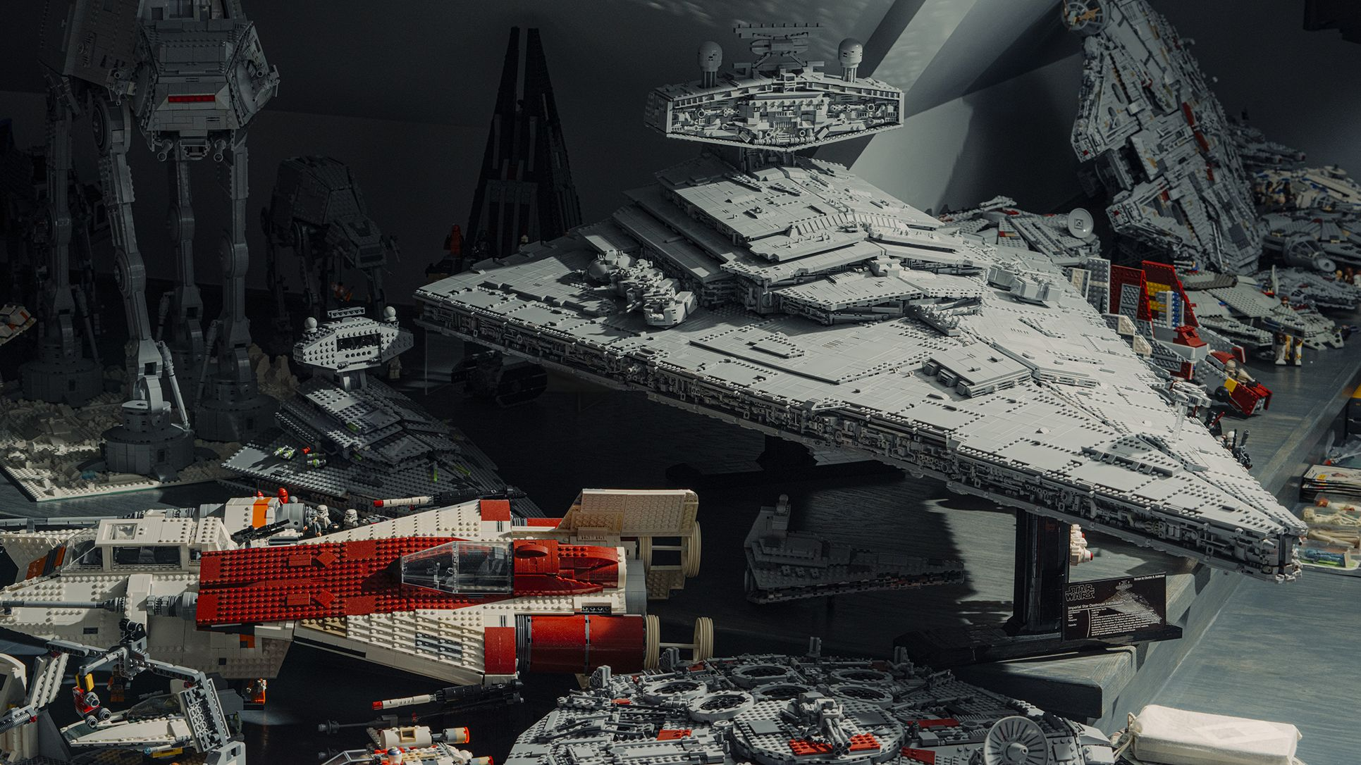 One Man's Epic Quest to Build a 20,000-Piece LEGO Star Destroyer