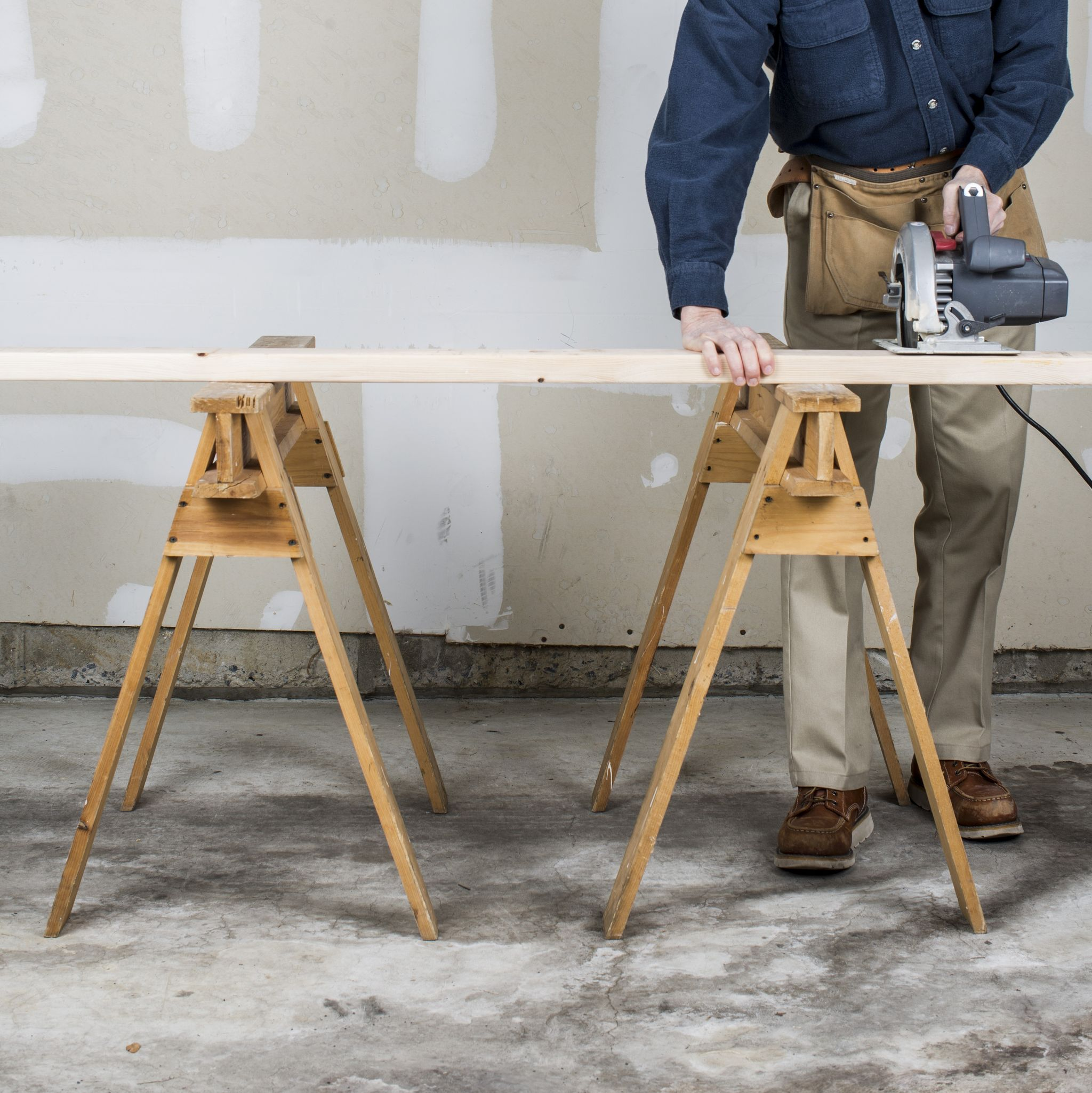 How To Build Your Own Workshop Sawhorse