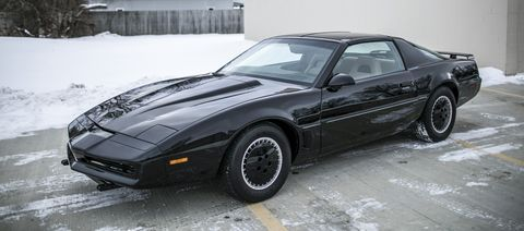 I made my own knight rider trans am replicacomplete with a image altavistaventures Gallery
